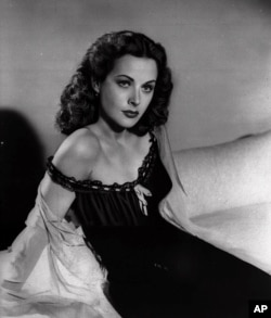 Actress Hedy Lamarr is shown in this 1946 photo. She was also a patented inventor. (AP Photo)