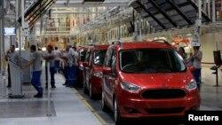 Fabrika Fordovih automobila u Turskoj (arhivski snimak)