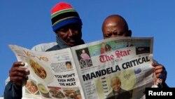 Soweto, Afrique du Sud, 24 juin 2013 (Reuter/Siphiwe Sibeko)
