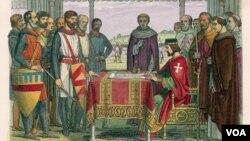 İngiltərə zadəganlarının Kral Cona Maqna Kartanı imzalatdırması insanların yırtıcı hökumətdən qorunması istiqamətində nəhəng tarixi addım idi.