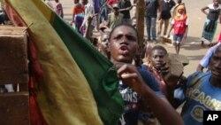 Manifestation à Bamako le 2 février 2012.