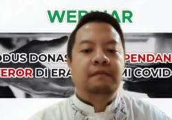 Garnadi Walanda, penulis buku Pendanaan Terorisme di Indonesia. (Foto: VOA/Nurhadi)