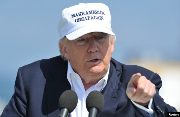 Ông Trump bị cáo buộc là đạo đức giả khi nói về Trung Quốc.
