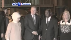 VOA60 AFIRKA: IVORY COAST Shugaban Turkiya Rajib Tayyib Erdogan Ya Fara Ziyarsa Ta Farko A Ivory Coast , Fabrairu 29, 2016