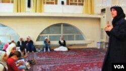 Houda al-Habash i njene učenice