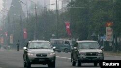북한 평양의 시가지. (자료사진)