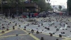 香港最新民調:暴力升級當局難辭其咎