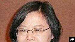 台湾民进党主席蔡英文(资料照片)