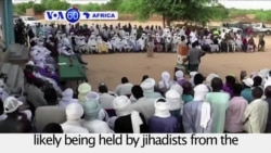 VOA60 Africa - Nigeria: A US aid worker kidnapped in Niger is likely being held by jihadists