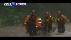 Mưa lớn gây nên lũ quét khắp nơi ở vùng Đông Bắc nước Mỹ