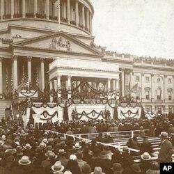 罗斯福总统在华盛顿的就职典礼