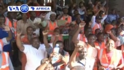Kenya Dock workers in port city of Mombasa strike in demand for permanent jobs