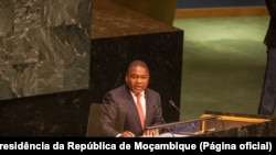 Presidente moçambicano pede continuação de apoio americano