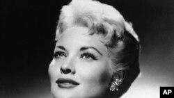 Patti Page en 1958.