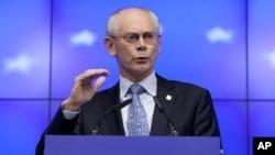 """Ông Van Rompuy nói thêm là ông vẫn còn giữ lòng tin vào """"tương lai của Việt Nam"""""""