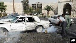 Дамаск, Сирия. 21 октября 2012 года
