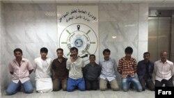 Pengawal pantai Kuwait tahan 10 orang Iran