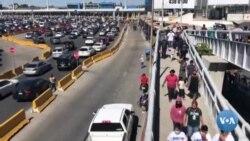 AQSh-Meksika chegarasi gavjumlashmoqda