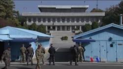2017-11-14 美國之音視頻新聞: 一名北韓軍人冒槍林彈雨穿越三八線 (粵語)
