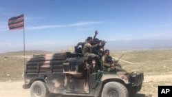 افغانستان میں دہشت گردوں کے خلاف فوجی کارروائی ۔ فائل فوٹو