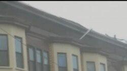 """2012-10-30 美國之音視頻新聞: 颶風""""桑迪""""橫掃美國東北地區"""