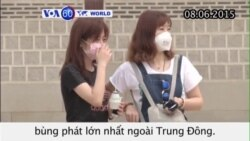 Gia tăng người nhiễm virus bệnh MERS tại Hàn Quốc (VOA60)