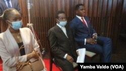 Nouveau membre du bureau de l'Assemblée nationale à Kinshasa, en RDC, le 9 décembre 2020.