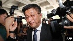 北韓特使金赫澈2月21日抵達河內,受到媒體追踪