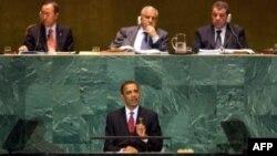 Барак Обама в ООН. 2009 год.
