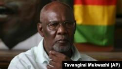 Opposition leader Dumiso Dabengwa.