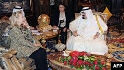 سوريه و ايران در کانون گفتگوهای استراتژيک کلينتون و ملک عبدالله