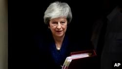 Theresa May, Waziri Mkuu wa uingereza