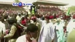 VOA60 AFIRKA: VOA60 AFIRKA: A Niger Ana Ganin Cewa Dan Takarar Jami'iyya Mai Mulki Bazoum Mohamed Ne Zai Maye Gurbin Mahamadou Issifou