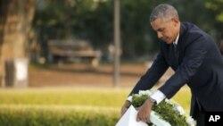 Президент Барак Обама в Хіросімі