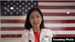 Bác sĩ Mai Khanh Trần, một ứng cử viên gốc Việt, tranh cử vào chức dân biểu liên bang khu vực 39.