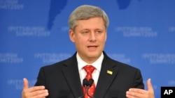加拿大总理哈珀(资料照)