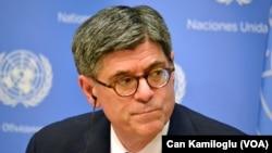 US Secretary of the Treasury Jack Lew