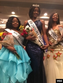 Miss Zimbabwe USA Nothando Jack and the two runners up Natalie Mushore and Nyasha Madzakure. (Photo: Gibbs Dube)