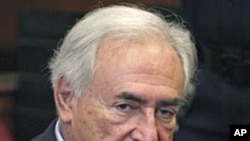 Former IMF chief Dominique Strauss-Kahn, (File)