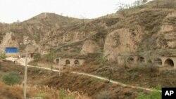陝西省延川縣梁家河窯洞(視頻截屏)
