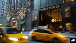 Kediaman Presiden terpilih AS Donald Trump di Trump Tower, Manhattan, New York (foto: dok).