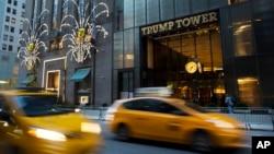 位于纽约的川普大厦