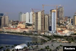 FILE - A general view Luanda, Angola's capital is seen in this picture taken May 15, 2015.