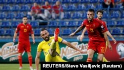 U tom trenutku je bio je logičan i ispravan potez, doneo sam odluku sam: Ljubiša Tumbaković - detalj sa utakmice Crna Gora-Kosovo 1:1
