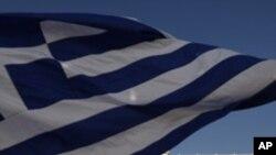 정부의 경제정책에 항의하는 그리스인들
