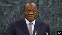 François Lounceny Fall, l'envoyé spécial de l'ONU pour l'Afrique de l'Ouest, lors de l'Assemblée générale des Nations unies, New York, 30 septembre 2013.