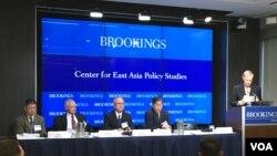 布魯金斯學會專家討論台海兩岸關係。