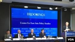 布鲁金斯学会专家讨论台海两岸关系