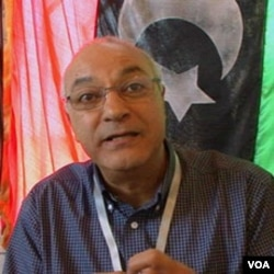 Mustafa Gheriani, glasnogovornik opozicije u Libiji