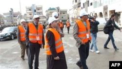 Các quan sát viên của Liên đoàn Ả Rập tại Daraa, Syria
